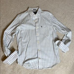 Abercrombie and Fitch muscle casual button up